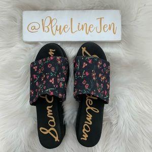 Wendi Floral Platform Slide Sandal NWOT